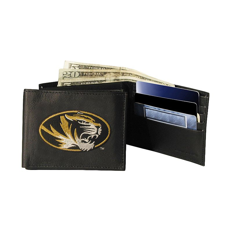 University of Missouri Tigers Bifold Leather Wallet