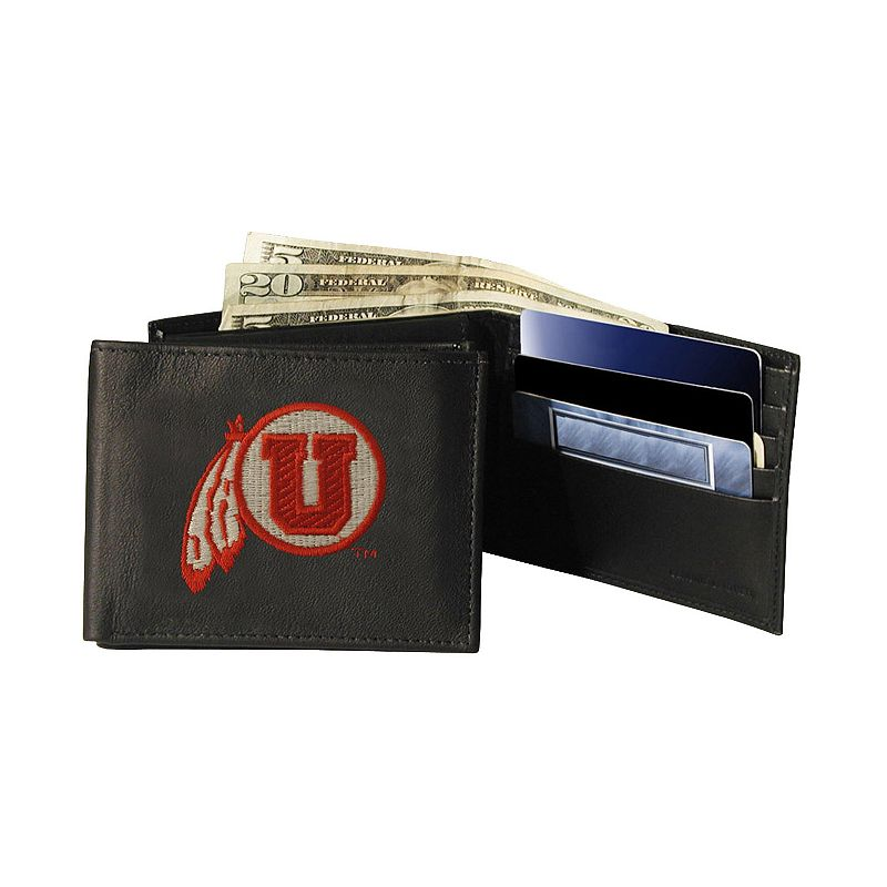 University of Utah Utes Bifold Leather Wallet