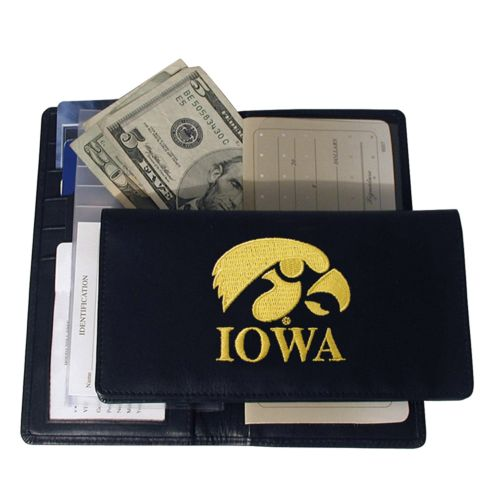 University of Iowa Hawkeyes Checkbook Wallet