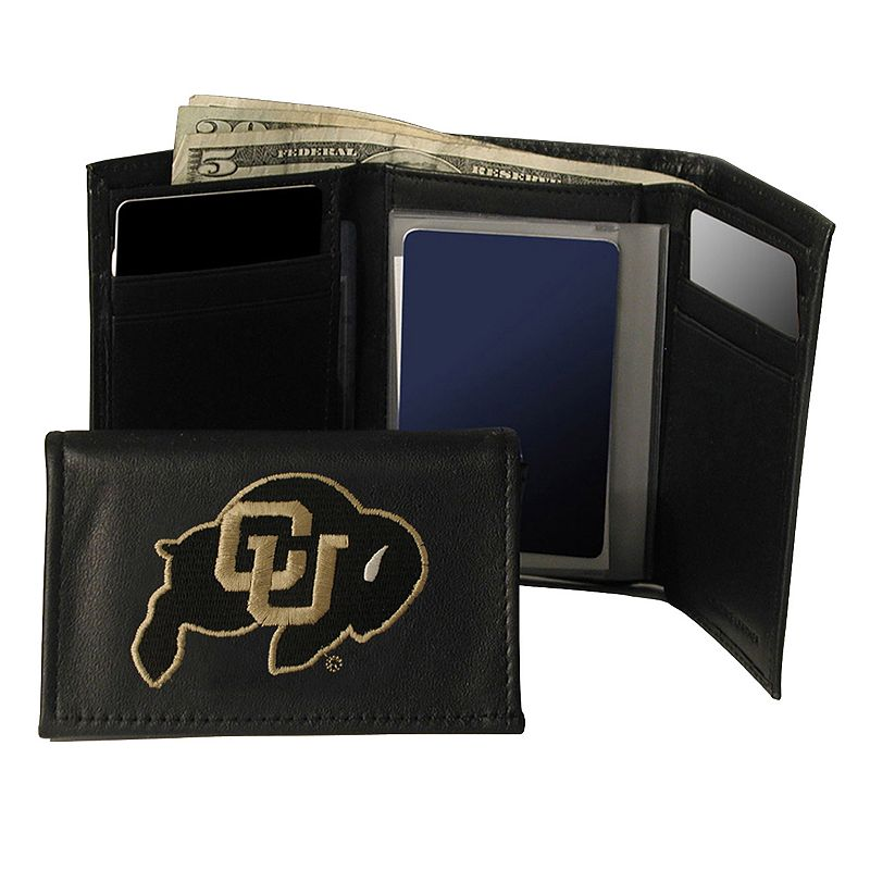 University of Colorado Buffaloes Trifold Leather Wallet