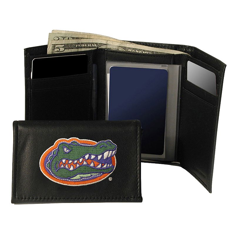 University of Florida Gators Trifold Leather Wallet