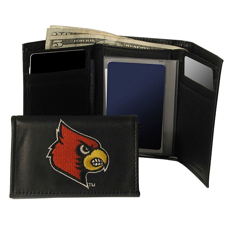 University of Louisville Cardinals Trifold Leather Wallet