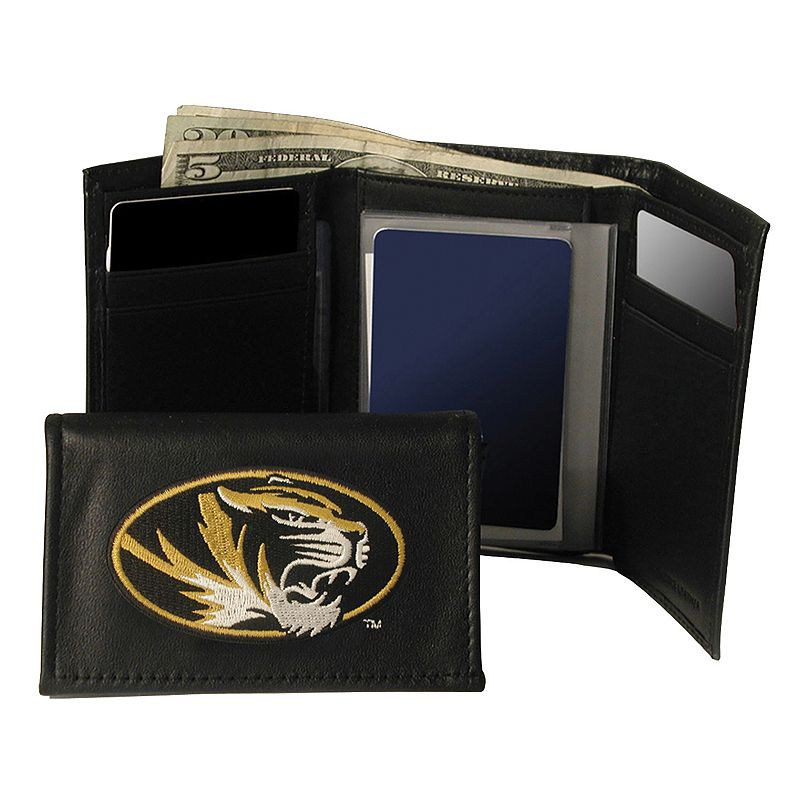 University of Missouri Tigers Trifold Leather Wallet