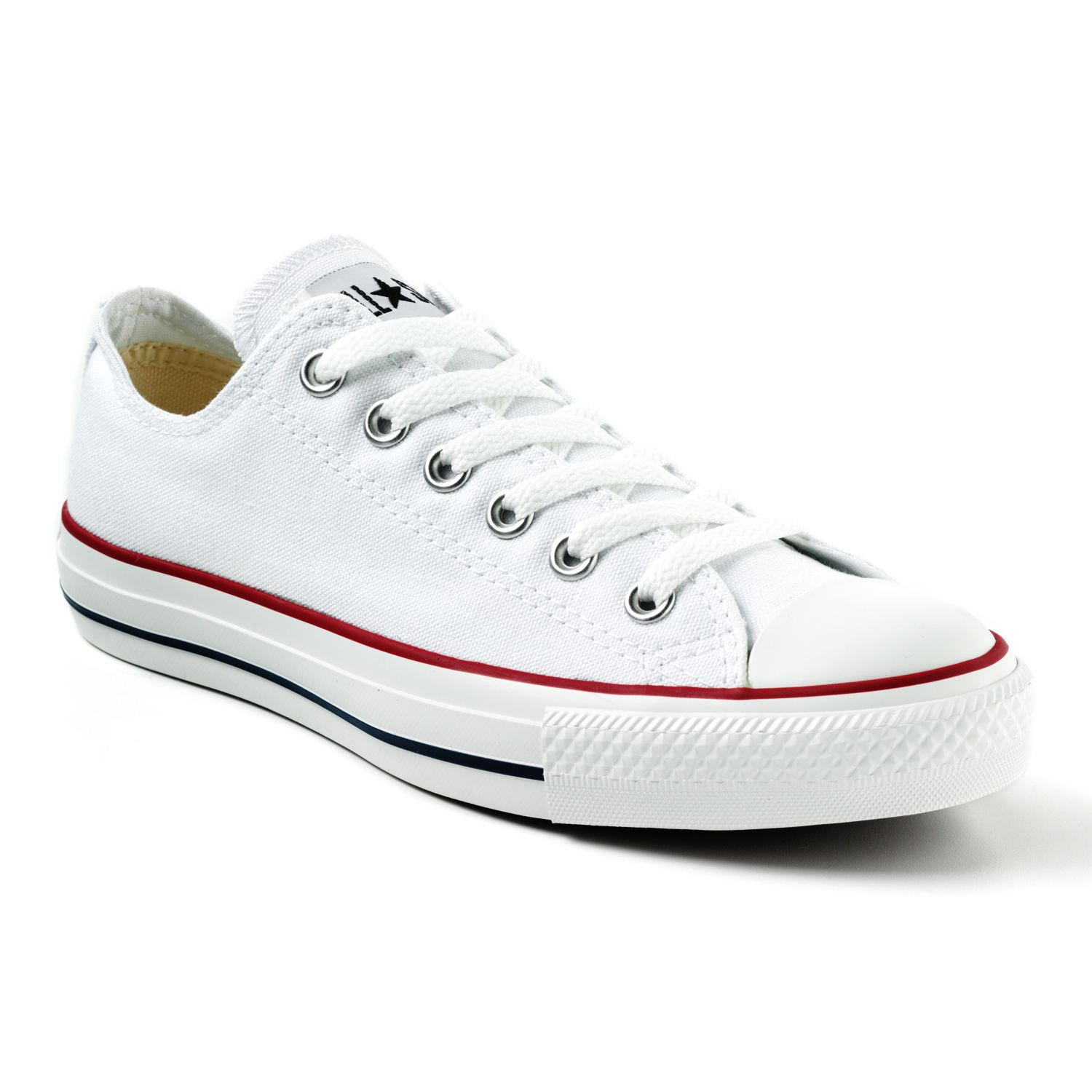 converse red canvas slip-on shoes