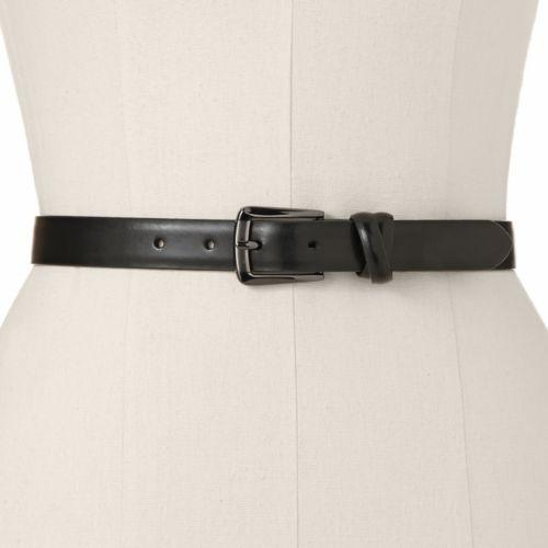 Croft & Barrow® Faux-Leather Belt