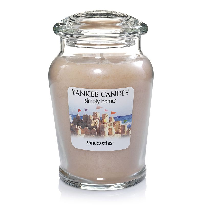 Yankee Candle simply home Sandcastles 19-oz. Jar Candle