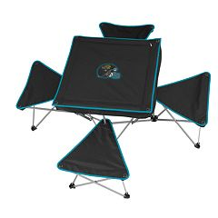Jacksonville Jaguars Portable Folding Table & Stool Set