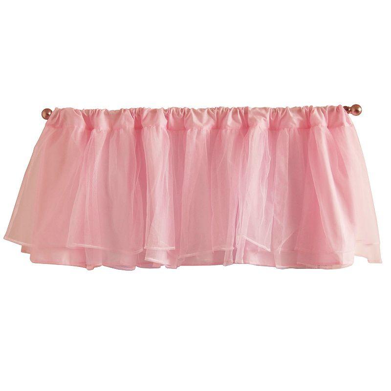 Tadpoles Tulle Window Valance - Pink