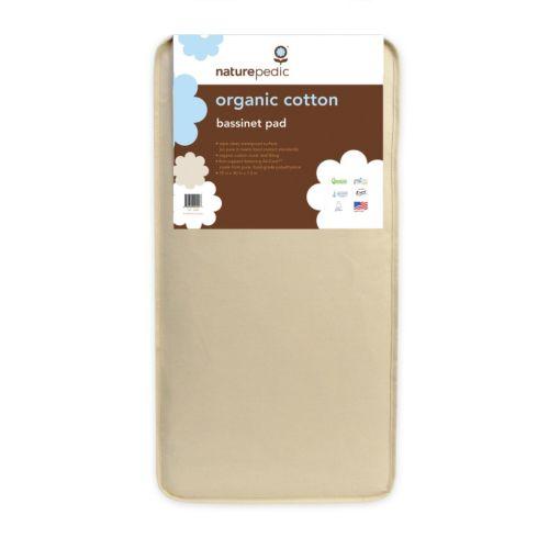Naturepedic Organic Cotton Bassinet Mattress