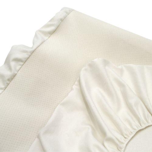 Naturepedic Organic Cotton Airflow Fitted Crib Sheet