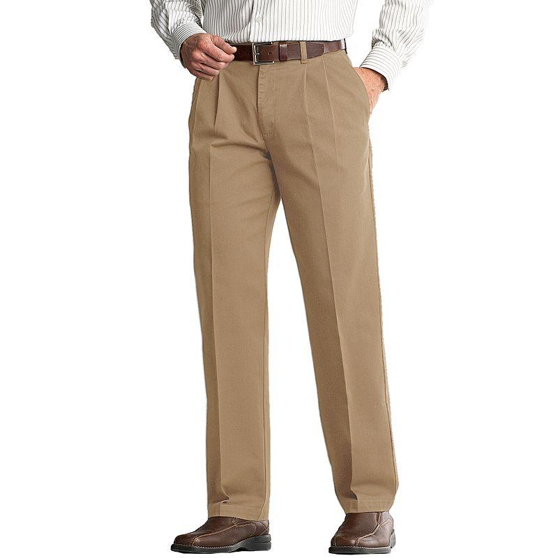 Men's Lee Comfort Fit Classic-Fit Pleated Pants