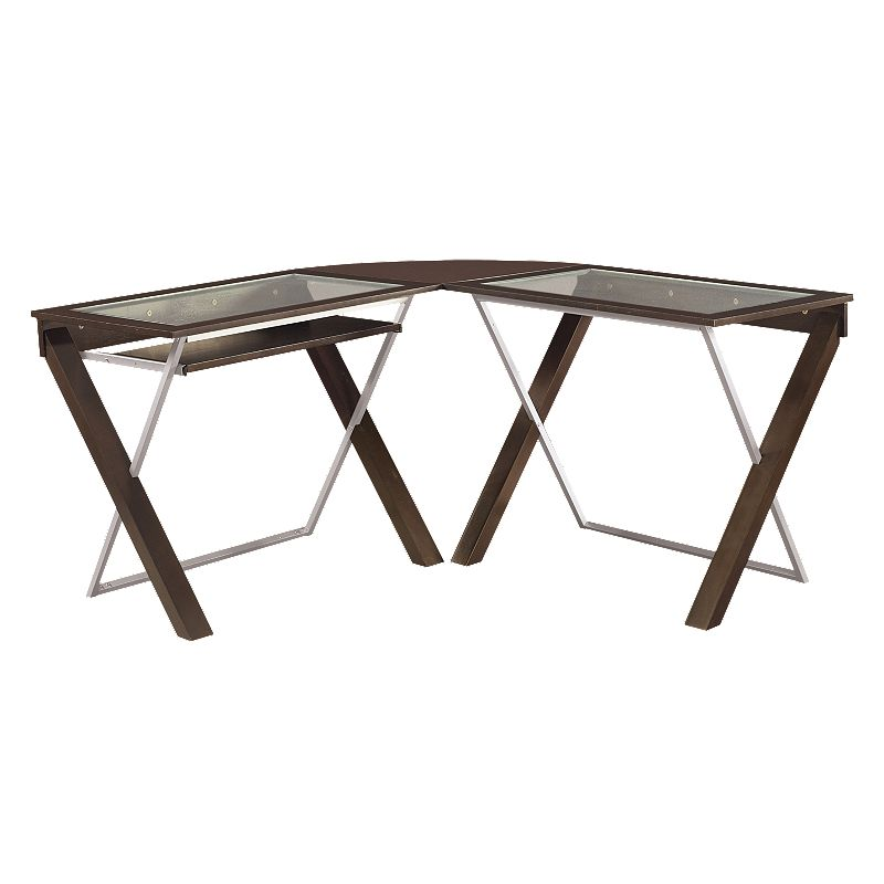 Office Star Products L-Shaped Workstation