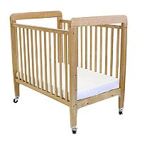 LA Baby Window Crib & Mattress