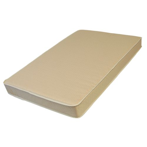 L.A. Baby Organic Cotton Compact Crib Mattress with Jacquard Cover