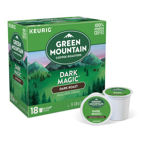 Keurig® K-Cup® Pod Green Mountain Coffee Dark Magic Dark Roast Coffee - 18-pk.
