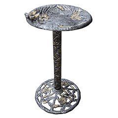 Oakland Living Hummingbird Birdbath Outdoor