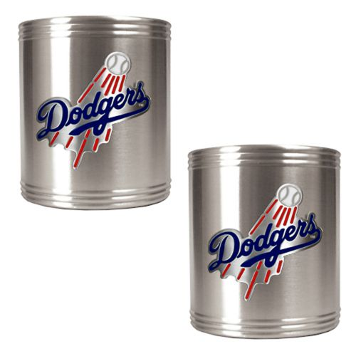Los Angeles Dodgers 2-pc. Stainless Steel Can Holder Set