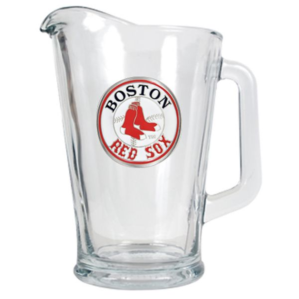 Boston Red Sox Glass Pitcher