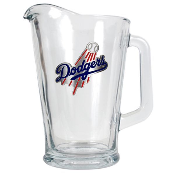 Los Angeles Dodgers Glass Pitcher