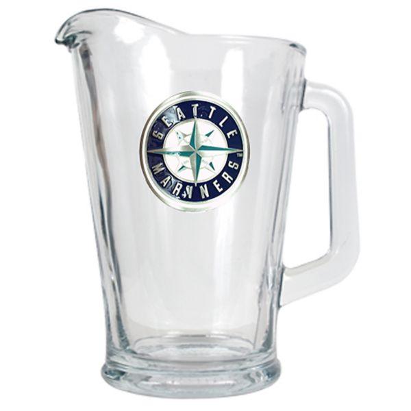 Seattle Mariners Glass Pitcher