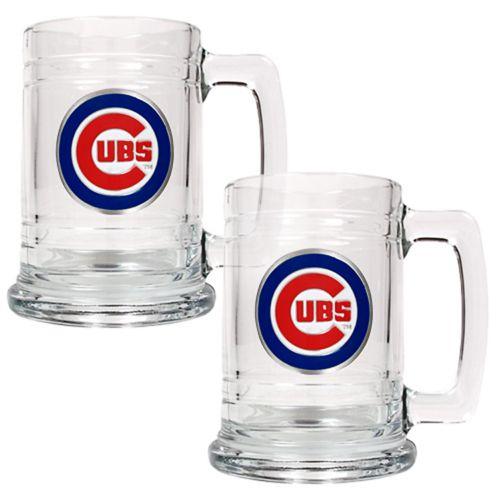 Chicago Cubs 2-pc. Tankard Set