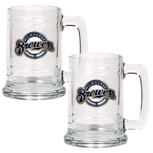Milwaukee Brewers 2-pc. Tankard Set