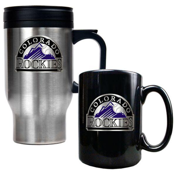 Colorado Rockies 2-pc. Mug Set