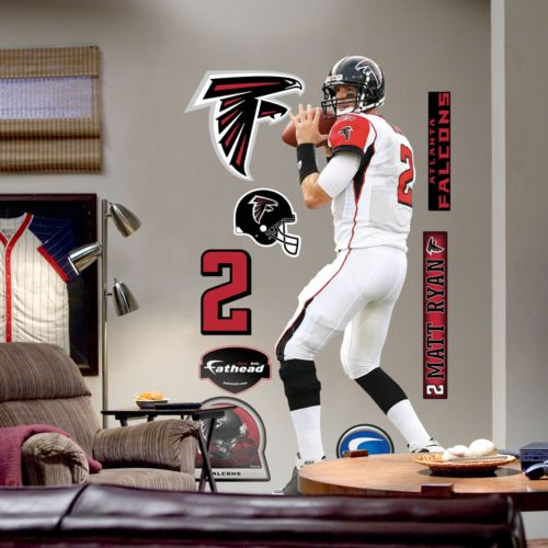 Fathead Atlanta Falcons Matt Ryan Wall Decal