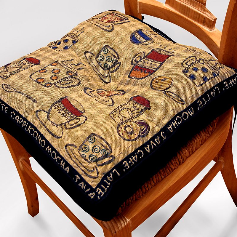 Park B. Smith Cafe Tapestry Chair Pad