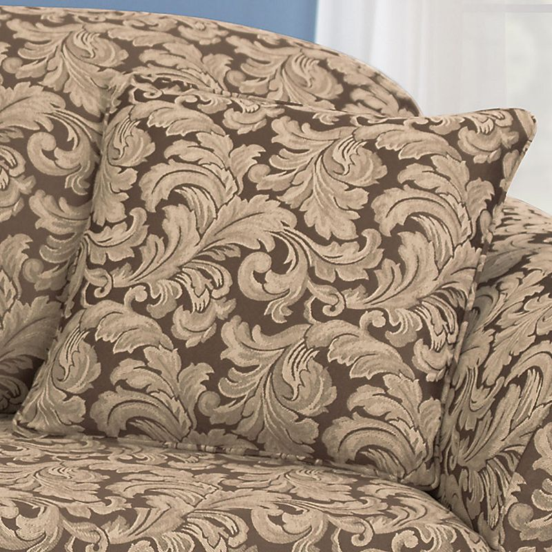 Sure Fit Scroll Leaf Accent Pillow