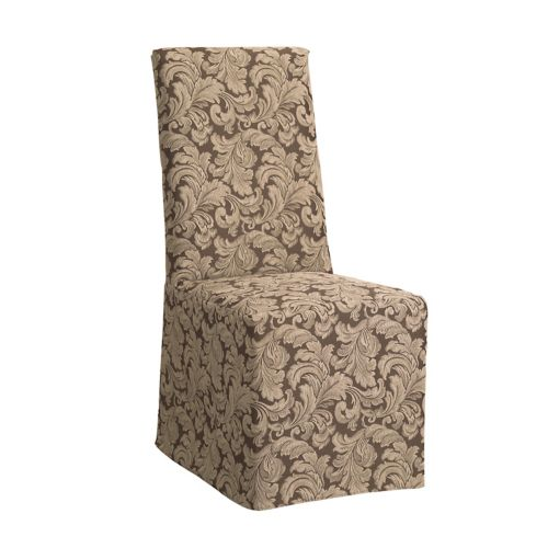 Sure Fit Scroll Leaf Dining Chair Slipcover