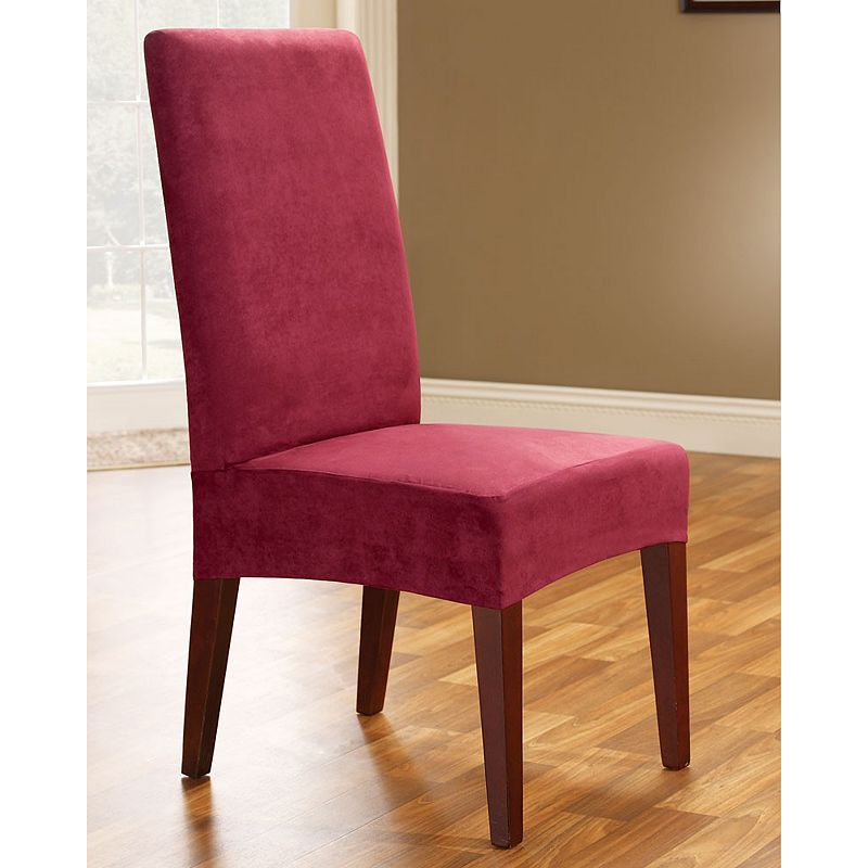 Sure Fit Faux-Suede Dining Room Chair Slipcover