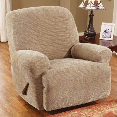 Sure Fit Royal Diamond Recliner Slipcover