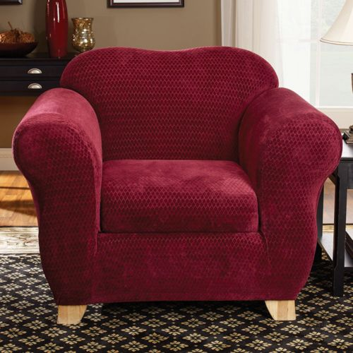 Sure Fit Royal Diamond Chair Slipcover