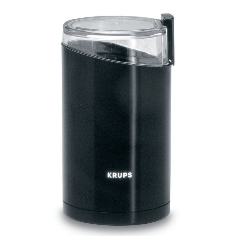 Krups Fast-Touch Coffee Grinder, Black