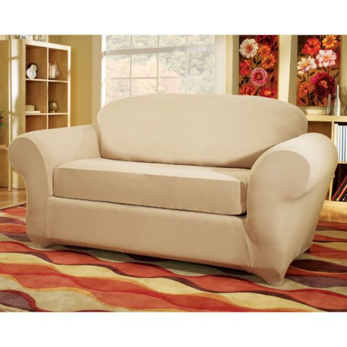 Sure Fit Honeycomb Loveseat Slipcover