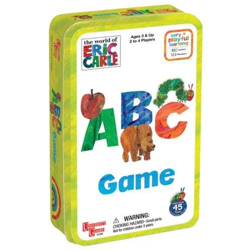 The World of Eric Carle ABC Game Tin by University Games