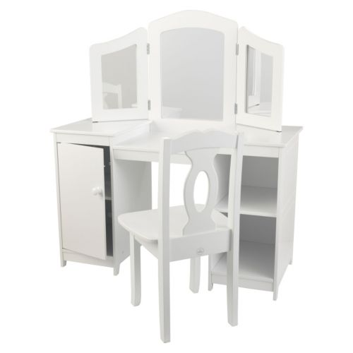 KidKraft Deluxe Vanity and Chair Set