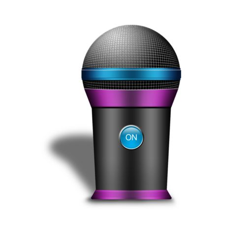 Rock Star Microphone Tumbler