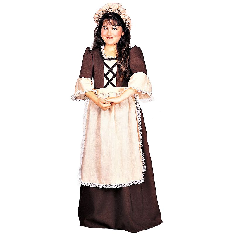 Colonial Girl Costume - Kids
