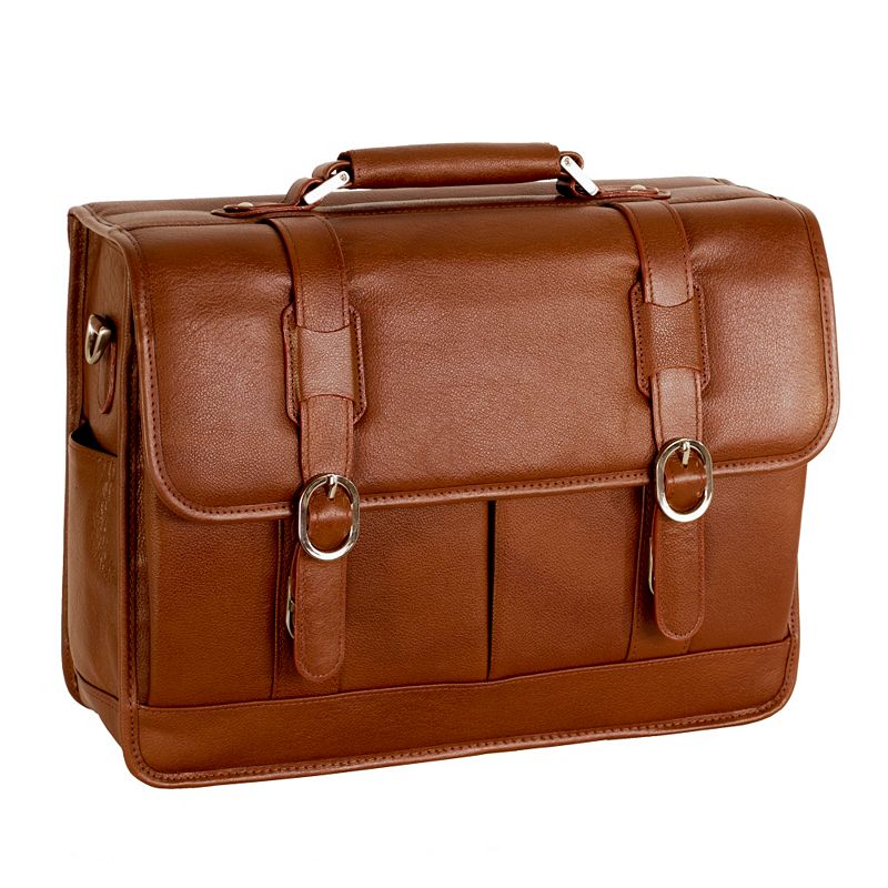 McKlein Beverly Leather Laptop Case