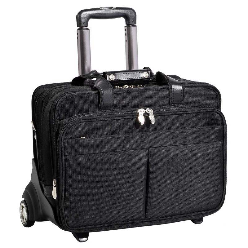 McKlein Roosevelt Wheeled Laptop Case
