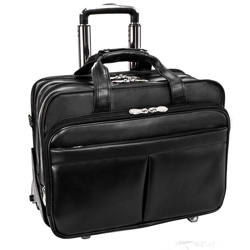 McKlein Roosevelt Detachable-Wheeled Laptop Case