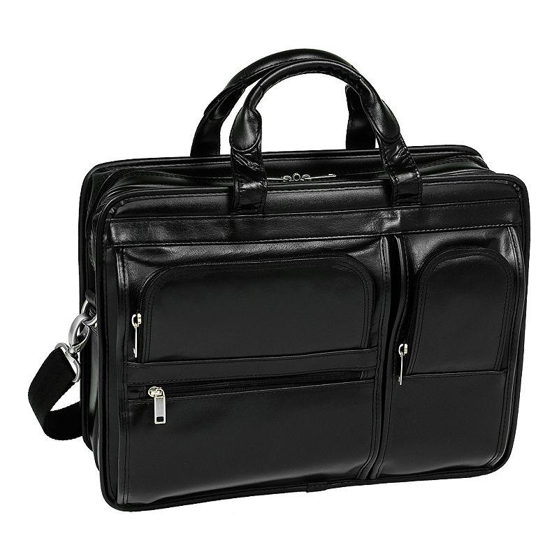 McKlein Hubbard Leather Laptop Case