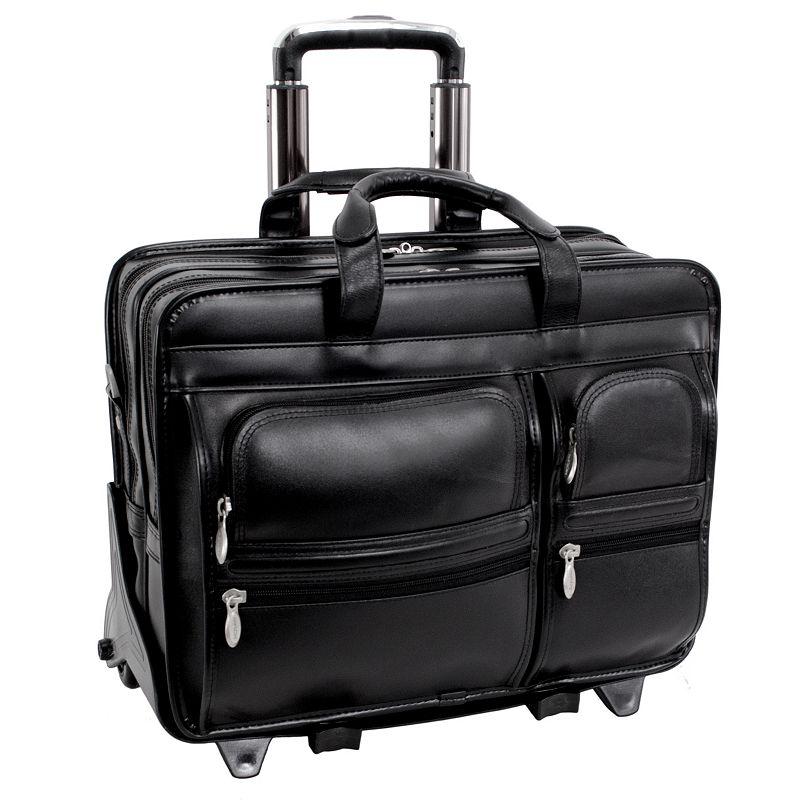 McKlein Clinton Detachable-Wheeled Laptop Case