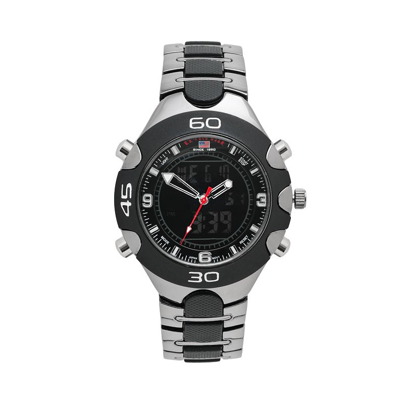 U.S. Polo Assn. Men's Analog & Digital Chronograph Watch - US8083