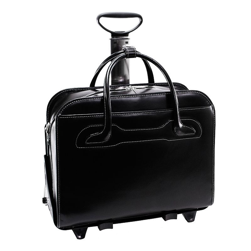 McKlein Willowbrook Detachable-Wheeled Briefcase