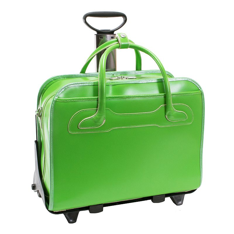 McKlein Willowbrook Detachable-Wheeled Briefcase