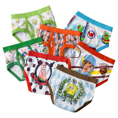 Nickelodeon 7-pk. Briefs - Toddler Boy