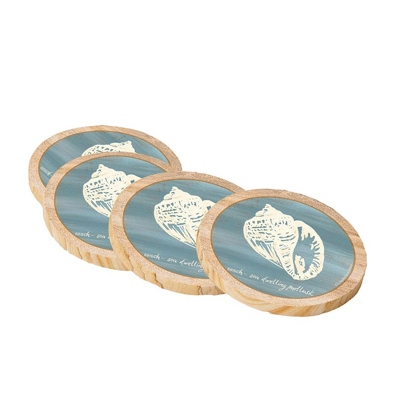 Thirstystone Conch Shell Coaster Set